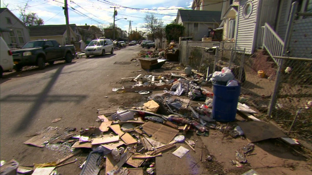 For some, voting takes backseat to Sandy