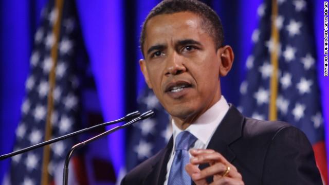 2008: Barack Obama wins the White House