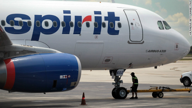 Spirit Airlines increased its fee to $100 for checking bags at the boarding gate. It goes into effect Tuesday.