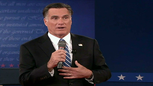 Wall Street shifts toward Romney