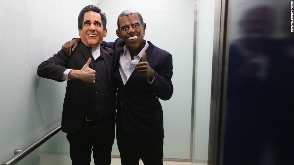 Who knew that John Kerry and Chris Rock were running for president?