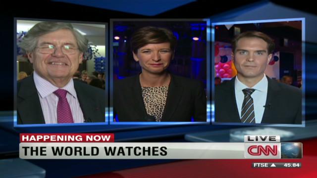 U.S. election 'watch parties' in Europe
