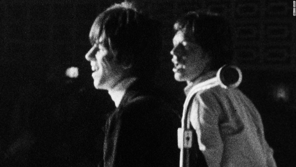 """Keith Richards and Mick Jagger from """"The Rolling Stones: Charlie Is My Darling — Ireland 1965"""""""