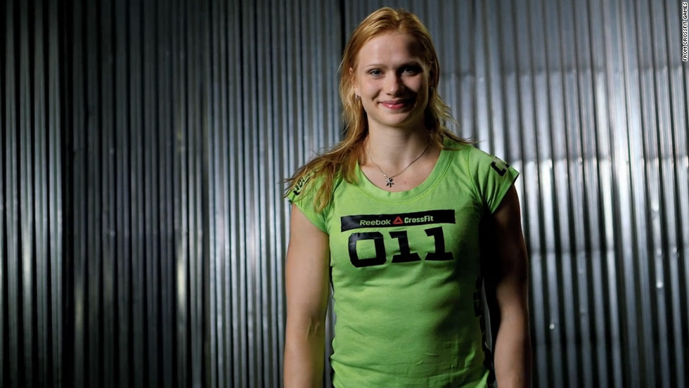 "Annie Thorisdottir recently earned the title of the world's fittest woman by taking first place at the <a href=""http://games.crossfit.com/video/annie-thorisdottirs-victory "" target=""_blank"">2012 Reebok CrossFit Games</a>. The competition includes everything from weightlifting to jumping rope. ""I think my strengths are that I can usually just keep on going,"" the Icelandic athlete told CrossFit. ""I don't really need to stop and rest."""