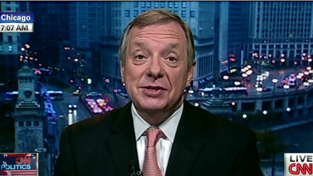 Durbin addresses bipartisanship