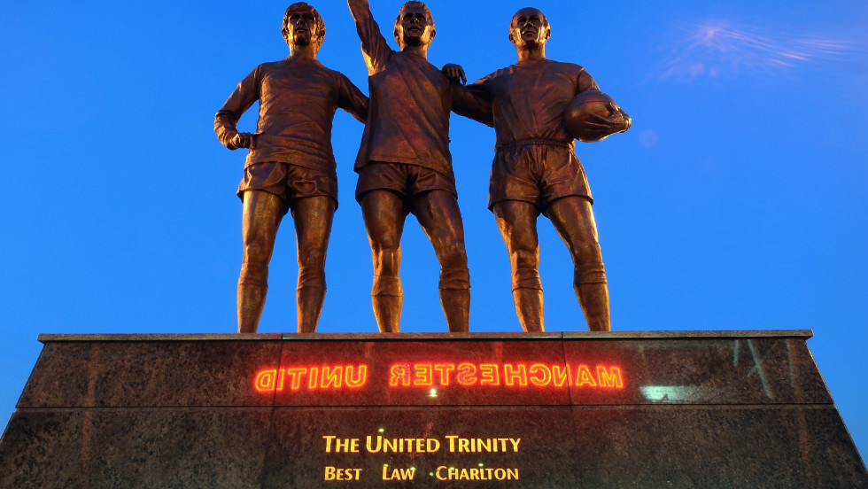 The Alex Ferguson sculpture is the third Manchester United piece Jackson has produced. His statue of George Best, Denis Law and Bobby Charlton, which stands outside Old Trafford, depicts three of the club's greatest players.