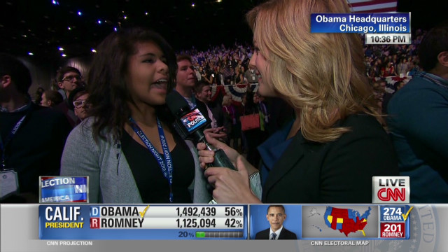 15 year old Obama campaign volunteer