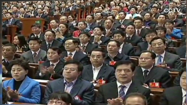 China's National Congress meets