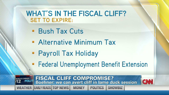 Fiscal cliff compromise?