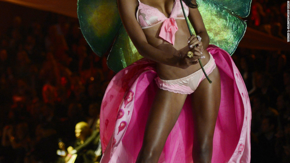 vs fashion show 2012 asmine Tookes