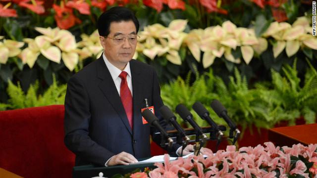 China's Hu Jintao issues warning