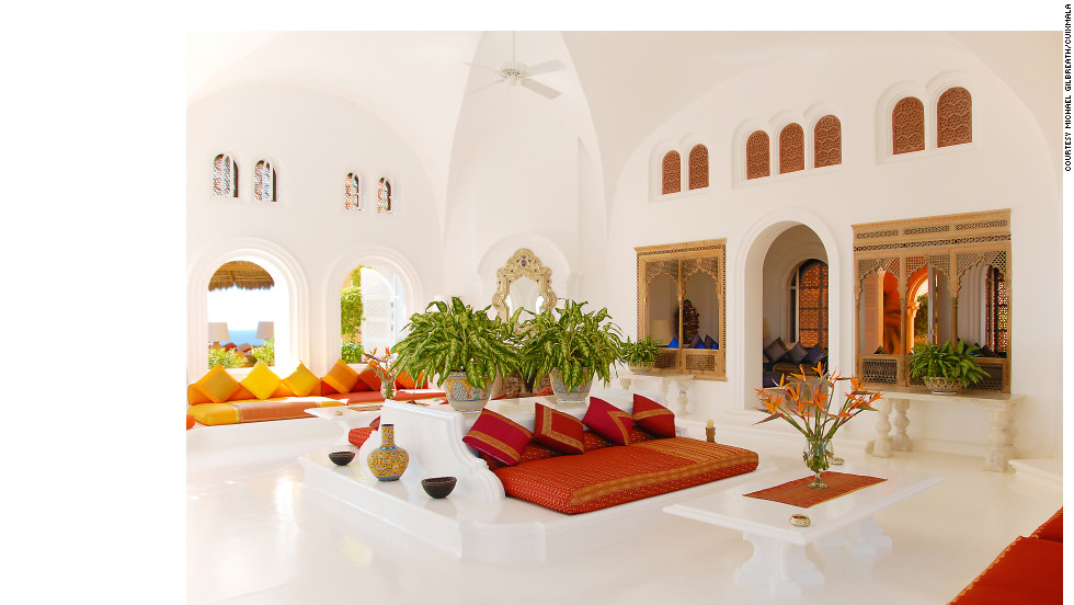 The estate on the Mexican Pacific features suites, bungalows and private casitas.