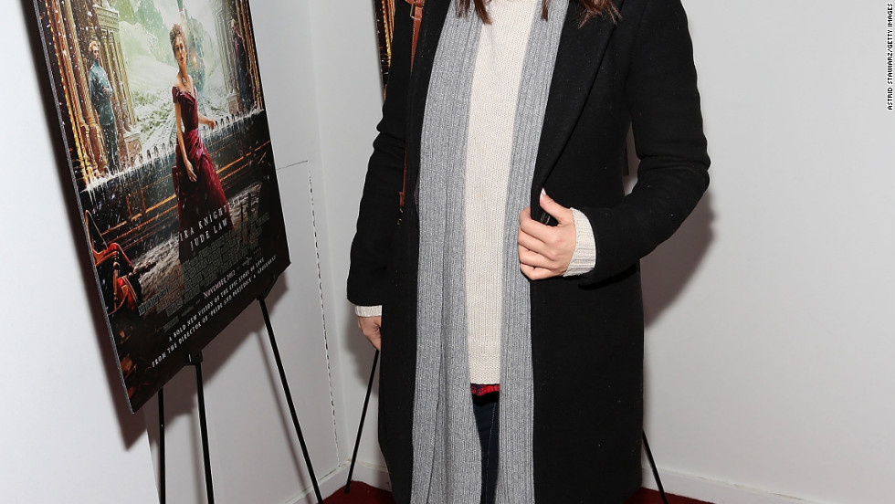 "Olivia Wilde attends a screening of ""Anna Karenina"" in New York City."