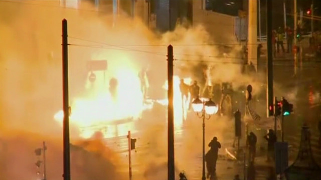 Austerity anger fuels violence in Greece