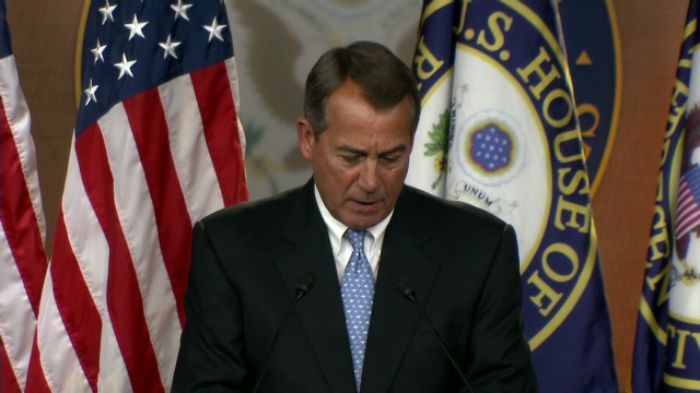 Boehner: U.S. can avoid financial cliff