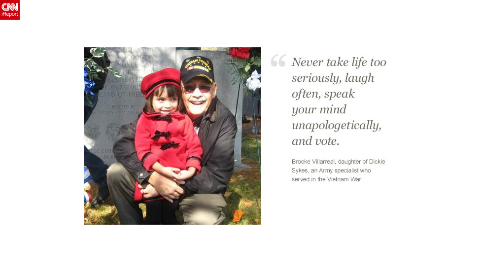 "<a href=""http://ireport.cnn.com/docs/DOC-878537"">Read Brooke Villarreal's tribute to her father on iReport.</a>"