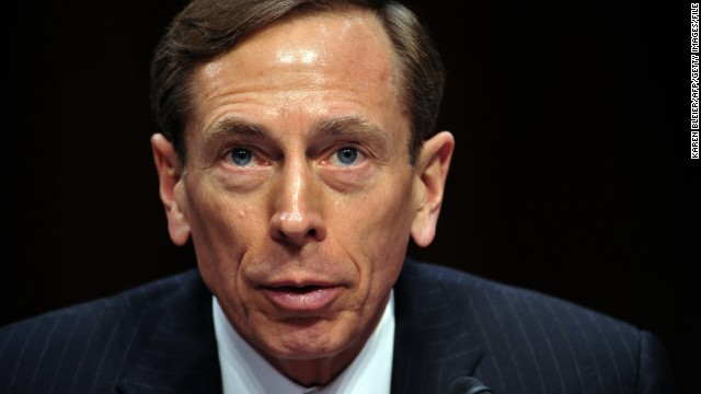 Petraeus resigns from CIA post