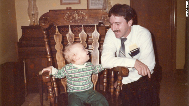 Robert was a single dad for a while. Mike came to live with him some of the time in suburban Atlanta.
