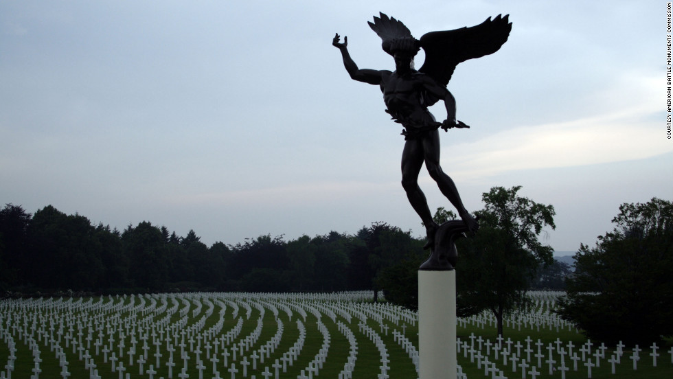 More than 8,000 individuals are honored at Henri-Chapelle American Cemetery, one of three American cemeteries that honor the war dead in Belgium.