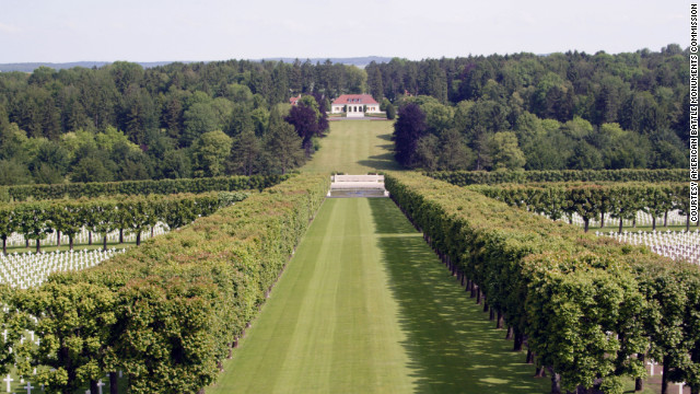 Meuse-Argonne American Cemetery in France is the largest American cemetery in Europe.