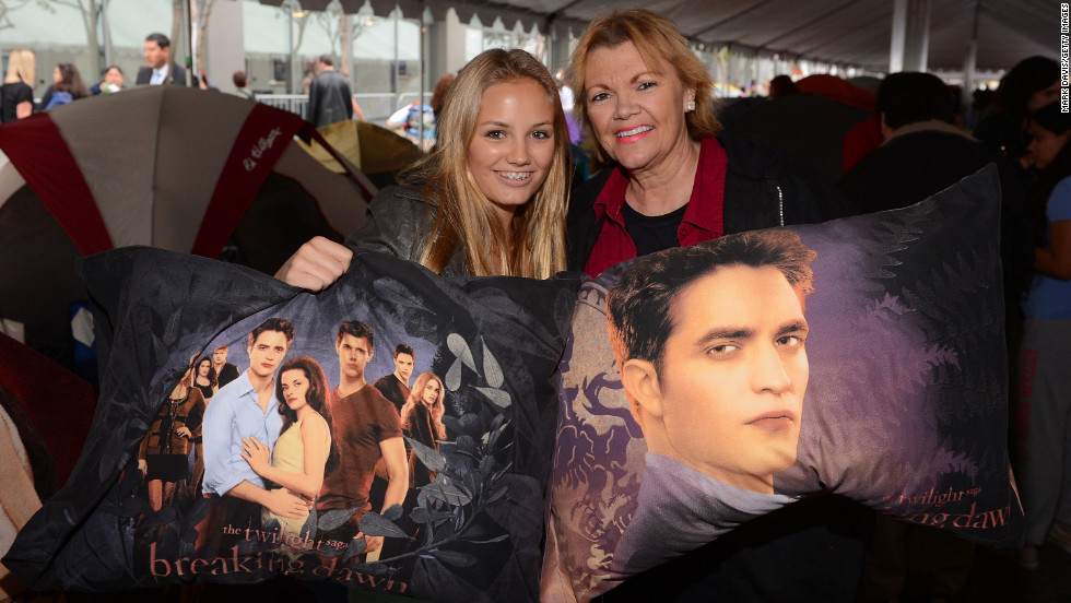 "More fans show off ""Twilight"" paraphernalia."