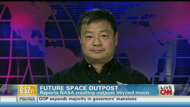 Could moon outpost propel space travel?