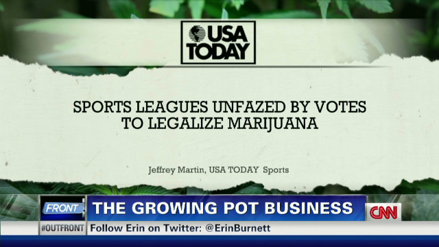 Marijuana's high profile election