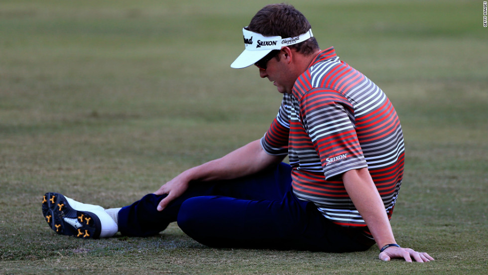 "Beljan, who was fighting to keep his PGA Tour playing rights for next season, told his caddy that he thought he was ""going to die"" after suffering elevated blood pressure and numbness in his arms."
