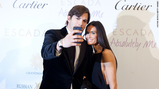 Kutcher files for divorce, a year later