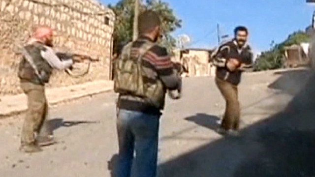 Video of alleged atrocities in Syria