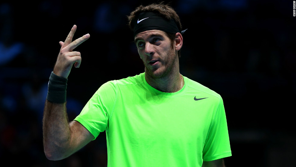 Djokovic reached his first London final after defeating 2009 runner-up Juan Martin del Potro, who made it to the last four after beating Federer in their final group game on Saturday.