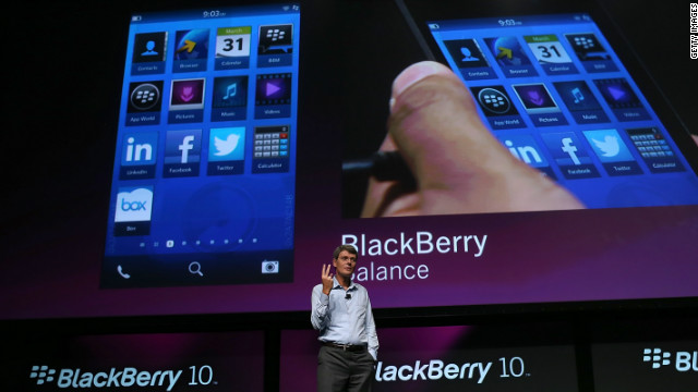 BlackBerry posed for a comeback?