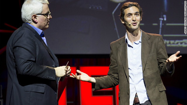 Jason Silva at TED Global