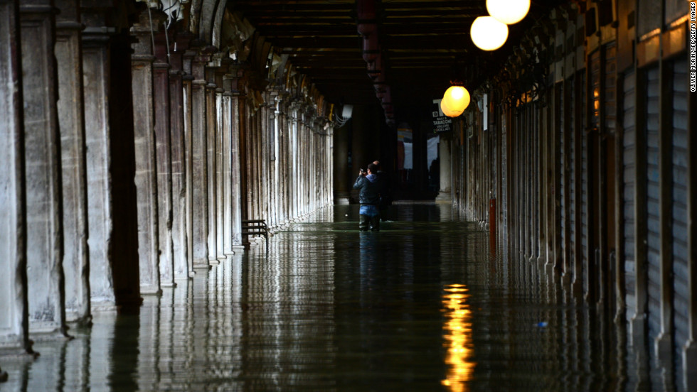 Authorities issued warnings to prepare residents and visitors after several people died in flooding in Italy last year.
