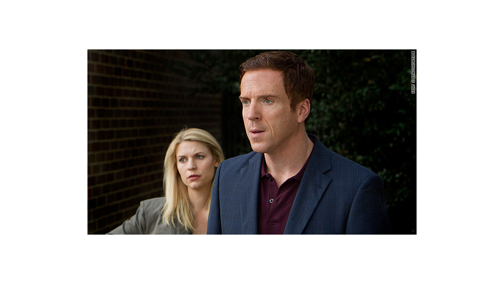 "For the second straight year, ""Homeland"" won the Golden Globe award for the best dramatic TV series."