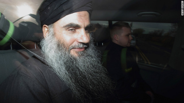 2012: Cleric Abu Qatada's legal battles