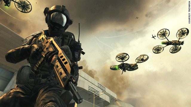 """Call of Duty: Black Ops II"" transports players to the not-so-distant future of 2025."