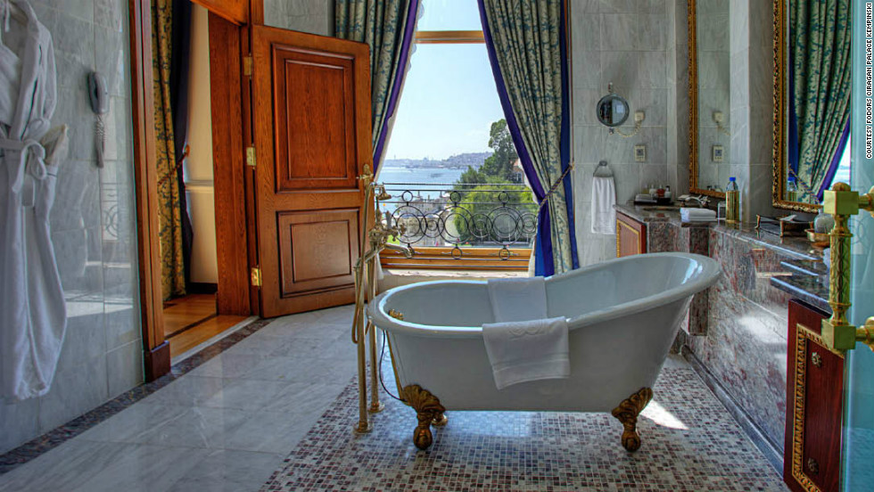 The historic Ciragan Palace Kempinski in Istanbul is one of Fodor's best royal pedigree hotels.