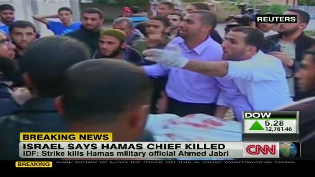 Hamas chief killed