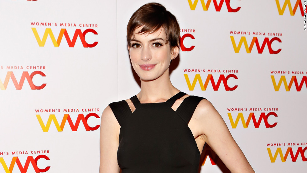 Anne Hathaway attends an event in New York City.