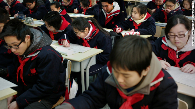 On China: China's education gap
