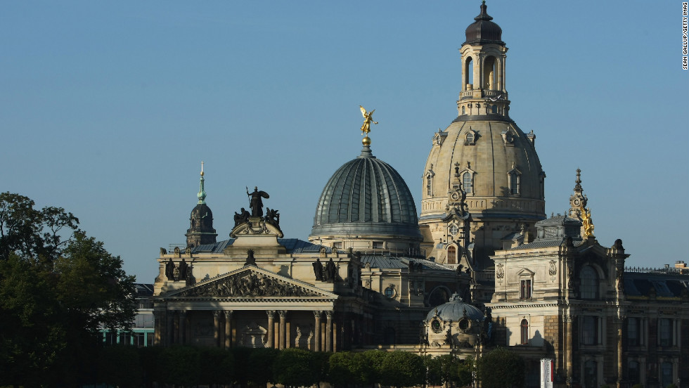 More than 60 years after the detruction of World War II, much of Dresden has been beautifully restored.