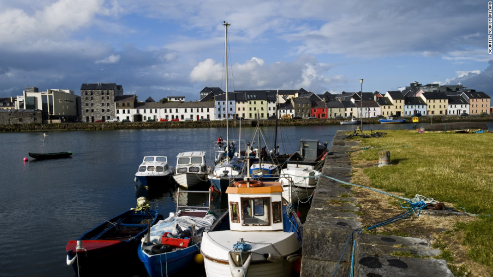 Galway lies on the coast of Ireland, in a part of the country strongly connected to traditional Irish culture.