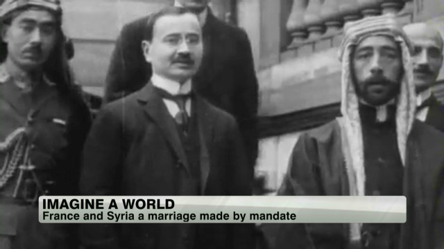 France and Syria, today and in history