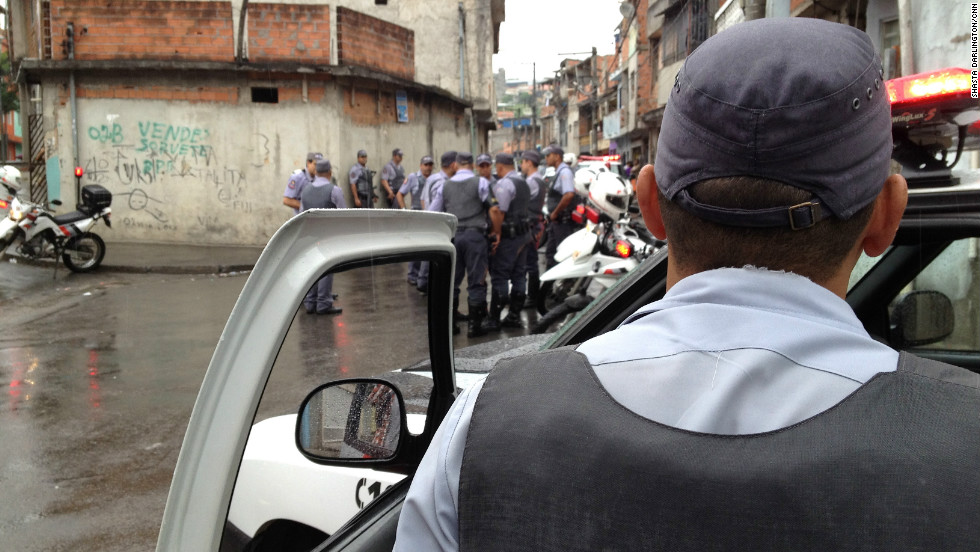 Thirty military police meet up for the raid, part of Operation Saturation which aims to get the gang leaders off the streets before they get them. In one raid police found a possible hit list with the names and addresses of 40 officers
