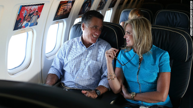 """Mitt Romney likely sees benefits for regular folk as """"gifts,"""" but tax breaks for those like him and wife  Ann aren't, the writer says."""