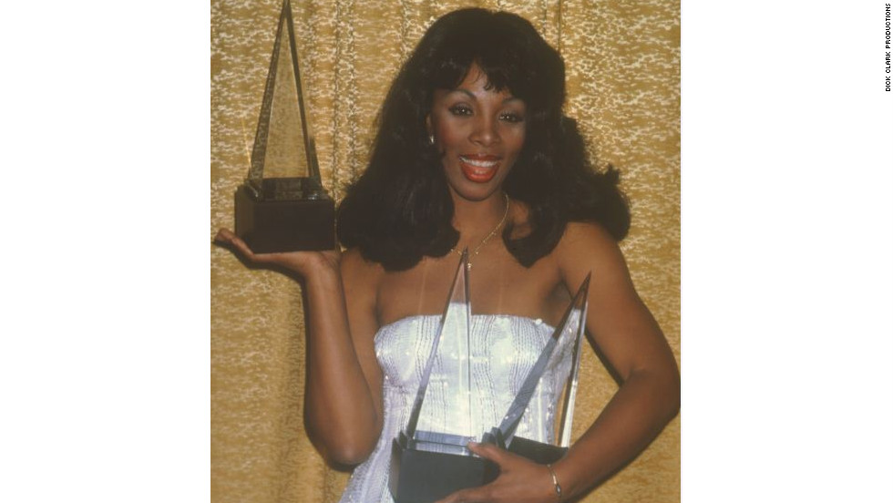 "In 1979, Donna Summer won three awards: favorite disco album, favorite disco female and favorite disco single for ""Last Dance."" This year's American Music Awards are Sunday."