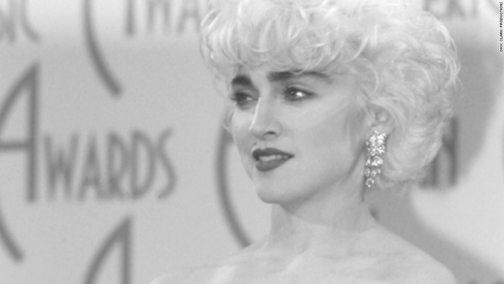 Madonna won the award for female pop/rock video in 1987.