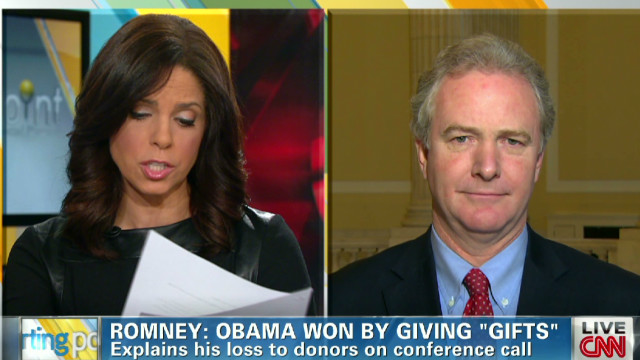 Van Hollen: Romney comment way off base