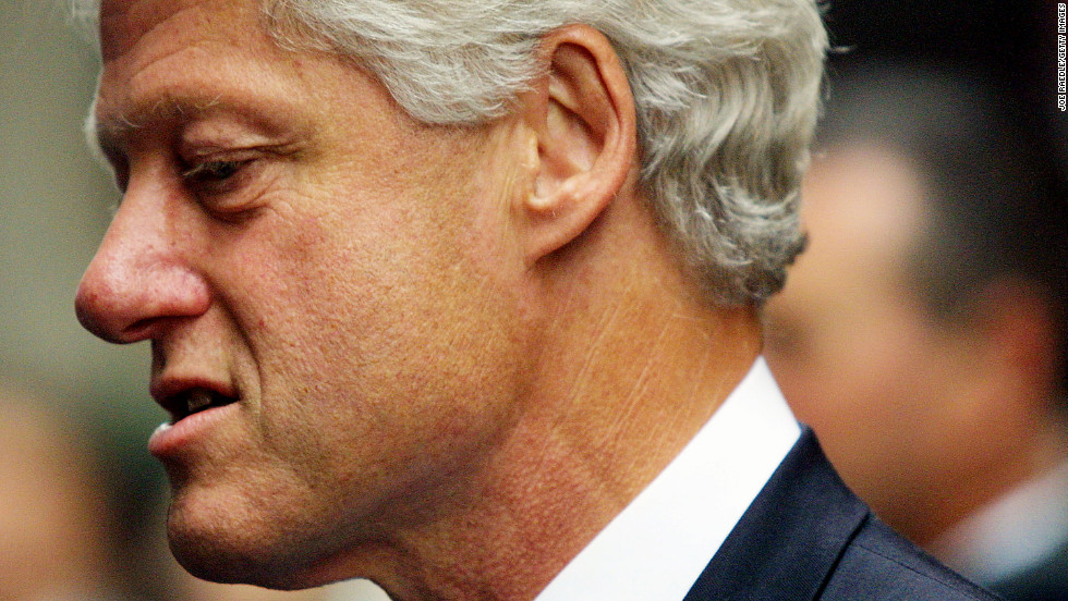 Former president Bill Clinton's denial of his affair with then-intern Monica Lewinsky jeopardized his seat in the Oval Office. News of the affair surfaced in 1998, and Clinton became the second  president to be impeached by the U.S. House when he was brought up on charges of lying to a grand jury and trying to influence the testimony of others but wasn't removed from office. He is still married to Secretary of State Hillary Clinton.